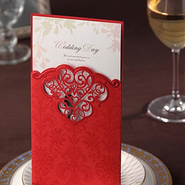 中式结婚礼请柬