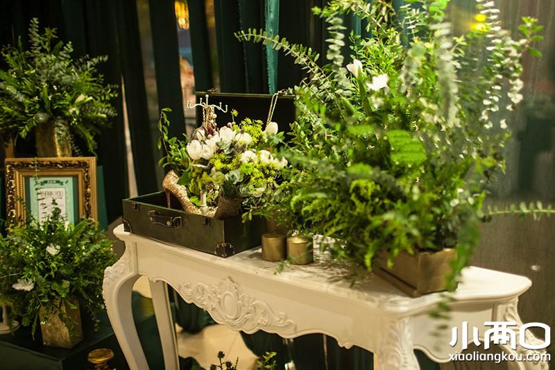 拉斐纳--神秘的森林系-北京婚礼策划-百合婚礼